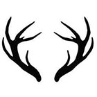 JoellesEmporium Deer Antlers Temporary Tattoo,Temporary Tattoo Set, Tattoo Temporary, Black, Nature Temporary Tattoo, Gift Ideas, Birthday Present