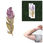 Tattify Plume - Temporary Tattoo (Set of 2)
