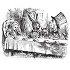 WildLifeDream Alice in Wonderland - Temporary tattoo