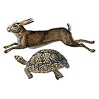 The Fickle Tattoo Tortoise and Hare Temporary Tattoo -