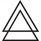 WildLifeDream Double Triangle - Temporary tattoo