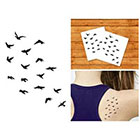 Doodleskin Flock - Temporary Tattoo (Set of 2)