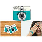 Doodleskin Camera - Temporary Tattoo (Set of 2)
