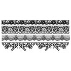 The Fickle Tattoo Black Lace Bracelet Temporary Tattoos -