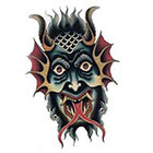 Tattoo You Mask Temporary Tattoo by Jon Garber