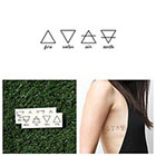 Tattify Alchemy - Temporary Tattoo (Set of 2)