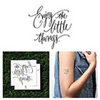 Tattify Moments - Temporary Tattoo (Set of 2)