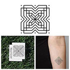 Tattify X Marks The Spot - Temporary Tattoo (Set of 2)