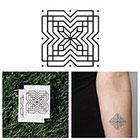 Tattify X Marks The Spot - Temporary Tattoo (Set of 2)