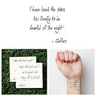 Tattify Stargazer - Temporary Tattoo (Set of 2)
