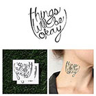 Tattify A-Okay - Temporary Tattoo (Set of 2)