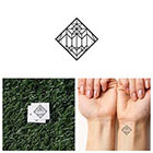 Tattify So Edgy - Temporary Tattoo (Set of 4)