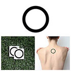 Tattify Roundabout - Temporary Tattoo (Set of 2)