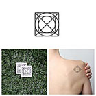 Tattify Vortex - Temporary Tattoo (Set of 2)