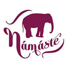 myTaT Yoga Tattoo, Namaste Tattoo, Elephant Temporary Tattoo (Set of 2)