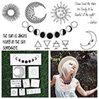 Tattify Night & Day Temporary Tattoo Pack (Set of 18)