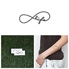 Tattify La Bella Vita - Temporary Tattoo (Set of 2)