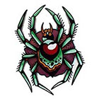 Tattoo You Spider Temporary Tattoo by Dan Smith.