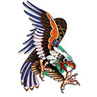 Tattoo You Eagle Temporary Tattoo by Dan Smith.