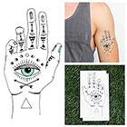 Tattify Eye See - Temporary Tattoo (Set of 2)