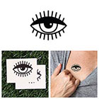 Tattify Monocle - temporary tattoo (Set of 2)