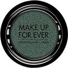 Make Up For Ever Artist Shadow Eyeshadow and powder blush in ME302 Peacock (Metallic) eyeshadow