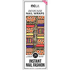 NCLA Nail Wraps in Captured Reflection