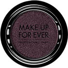 Make Up For Ever Artist Shadow Eyeshadow and powder blush in ME930 Black Purple (Metallic) eyeshadow