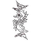Soma Art Tattoo Custom Mockingbird Temporary Tattoo - SomaArtTattoo Temporary Tattoo - wrist quote tattoo body sticker fake tattoo small tattoo