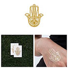 Tattify Cover Up - Metallic Gold Temporary Tattoo (Set of 2)