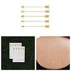 Tattify Dart Set - Metallic Gold Arrows Temporary Tattoo (Set of 2)