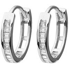 Target 1/5 CT. T.W. Tressa Collection Baguette Cut Cubic Zirconia Channel Set - Silver