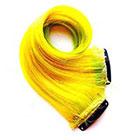 CandyAppleLocks Hair Extensions, Neon Clip in Hair, Human Hair Extension, Ombre, Tye Dye
