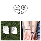 Tattify Inseparable - Temporary Tattoo (Set of 2)