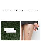 Tattify Limitless - Temporary Tattoo (Set of 2)