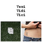 Tattify Victorious - Temporary Tattoo (Set of 2)