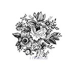 Ombeyond TEMPORARY TATTOO - Vintage Floral