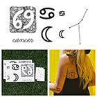Tattify Cancer - Temporary Tattoo (Set of 14)