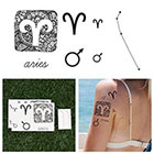 Tattify Aries - Temporary Tattoo (Set of 14)