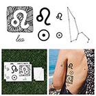 Tattify Leo - Temporary Tattoo (Set of 14)
