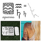 Tattify Aquarius - Temporary Tattoo (Set of 14)