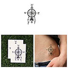 Tattify Pursuit- Temporary Tattoo (Set of 2)