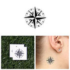 Tattify North Star - Temporary Tattoo (Set of 2)