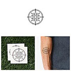 Tattify On The Road Again - Temporary Tattoo (Set of 2)