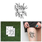 Tattify Wild Rose - Temporary Tattoo Pack (Set of 2)
