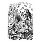 WildLifeDream Alice in Wonderland - Temporary tattoo