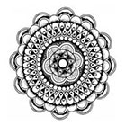 WildLifeDream Boho mandala - Temporary Tattoo