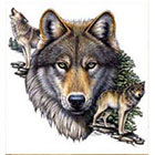 WildLifeDream Wolfs - Temporary tattoo