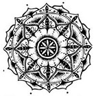 WildLifeDream Boho mandala - Temporary tattoo