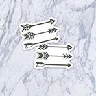 Tatzarazzi Small Tiny Arrows Fake Temporary Tattoos (Each set = 3 arrows)